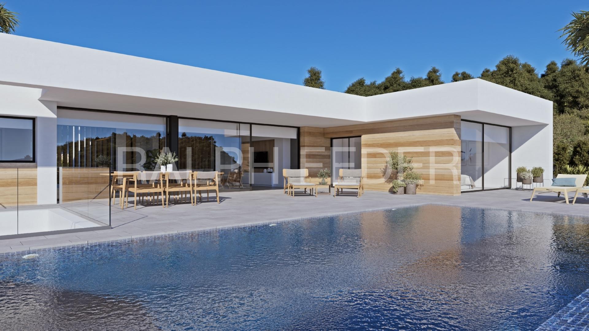 Vista piscina exclusive project